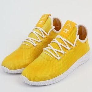 Adidas Pharrell Williams HU HOLI Tennis Hu Yellow